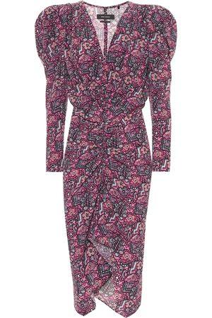 Isabel Marant Exclusivo en Mytheresa – vestido Raven de seda elastizada