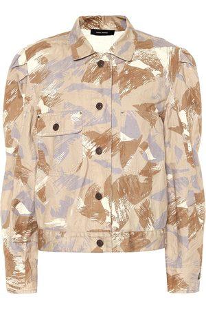 Isabel Marant Mujer De entretiempo - Exclusivo en Mytheresa – chaqueta Itora de algodón y lino