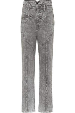 Isabel Marant Exclusivo en Mytheresa – jeans rectos Anastasia de tiro alto