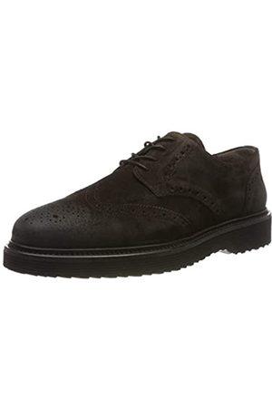 Marc O' Polo 90725423402300, Zapatos de Cordones Brogue para Hombre, (Dark Brown 790)