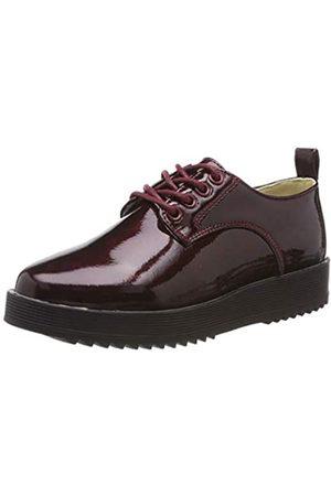 Beppi 2166421, Zapatos de Cordones Brogue para Niñas, Morado (Bordeaux 000)