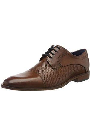 Bugatti 311752071100, Zapatos de Cordones Derby para Hombre, (Cognac 6300)