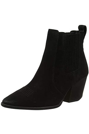 Superdry The Edit Chunky Chelsea Boot, Botas Camperas para Mujer, (Black 02a)