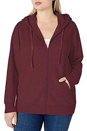 Amazon Plus Size French Terry Fleece Full-Zip Hoodie Fashion
