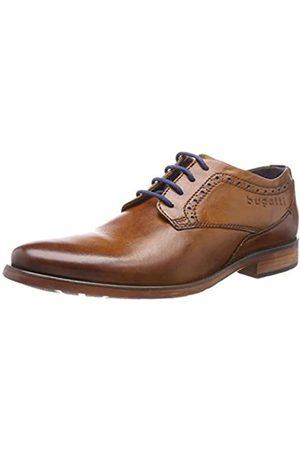 Bugatti 311163103500, Zapatos de Cordones Derby para Hombre, (Cognac 6300)