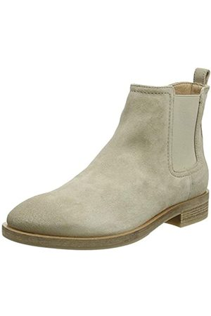 Geox Donna Brogue A, Botas Chelsea para Mujer, (Lt Taupe)