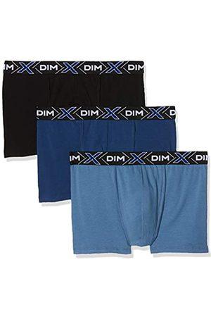 Dim Sous-vêtements Homme X-Temp Boxer X3, (Bleu Jean/Bleu Eclipse/Noir 8uw)