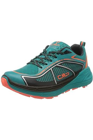 CMP Nashira Maxi Wmn Shoe, Zapatillas de Trail Running para Mujer, (Curacao-Red Fluo 32LC)
