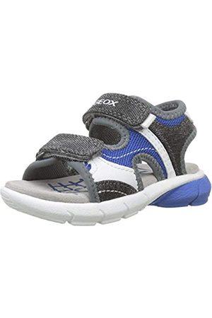 Geox B Sandal Flexyper Boy C, Sandalias para Bebés, Royal/Grey C0095