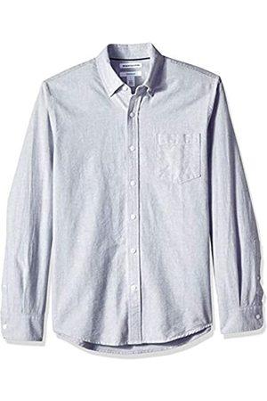 Amazon – Camisa Oxford de manga larga de corte entallado para hombre