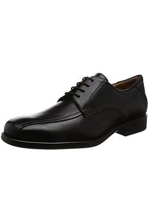 Geox U Federico W, Zapatos Derby para Hombre, (Black C9999)