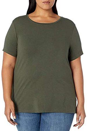Amazon Plus Size Short-Sleeve Crewneck T-Shirt Fashion-t-Shirts