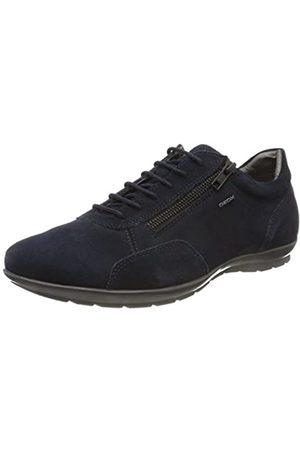 Geox Uomo Symbol A, Zapatos de Cordones Oxford para Hombre, (Navy)