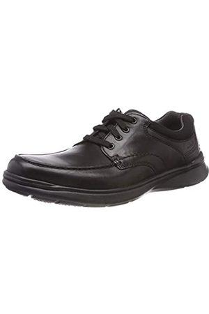 Clarks Hombre Con cordones - Cotrell Edge, Zapatos de Cordones Derby para Hombre, (Blk SmoothLea)