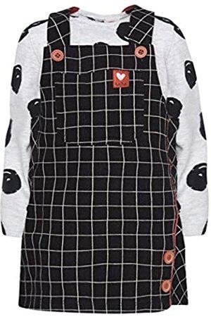 Tuc Tuc Conjunto de Camiseta de Manga Larga de Punto Liso y Licra más Vestido pichy con Motivos de la colección.