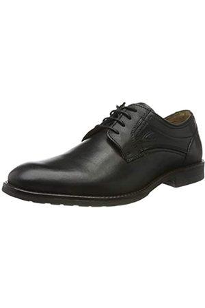 Camel Active Verona 11, Zapatos de Cordones Derby para Hombre, (Black 1)