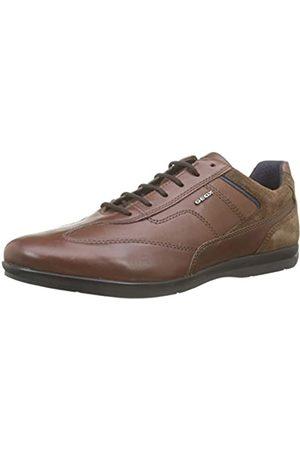 Geox U Adrien B, Zapatos de Cordones Oxford para Hombre, (Browncotto/Cognac C6g6n)
