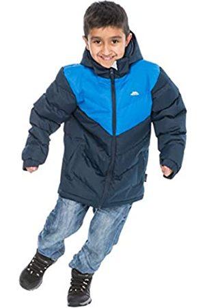 Trespass Luddi - Chaqueta de Invierno para niños (Acolchada, Impermeable, con Capucha Desmontable), Infantil, MCJKCATR0001_NA111/12