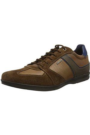 Geox U Adrien B, Zapatos de Cordones Derby para Hombre, (Browncotto C6003), 42