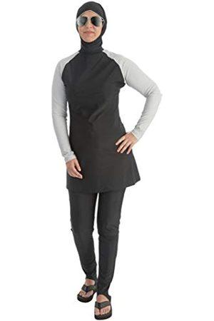 Beco Mujer Muslim BGE Bañador Traje Agua Deporte Superior con Pantalones Swimwear Burkini, Mujer, 5722