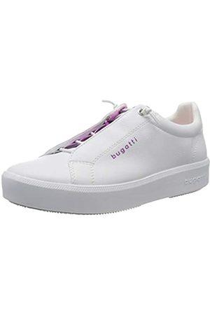 Bugatti 4324076a5059, Zapatillas sin Cordones para Mujer, (White/Pink 2036)