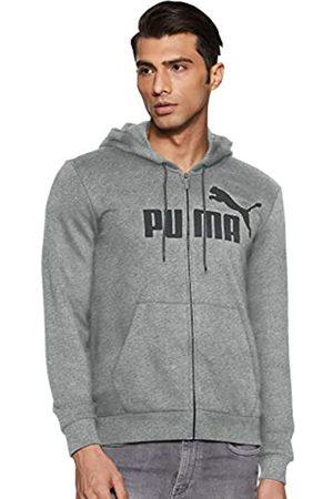 Puma ESS FZ Hoody TR Big Logo Sudadera, Hombre