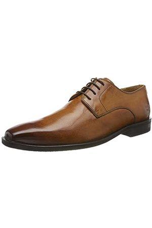 Melvin & Hamilton Alex 1, Zapatos de Cordones Derby para Hombre, (Red Remo Lining-Rich Tan + Textile-Insole Texon-Modica-Navy-Full Socks + Foam-)