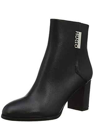 HUGO BOSS Victoria Bootie70-gr, Botines para Mujer, (Black 001)