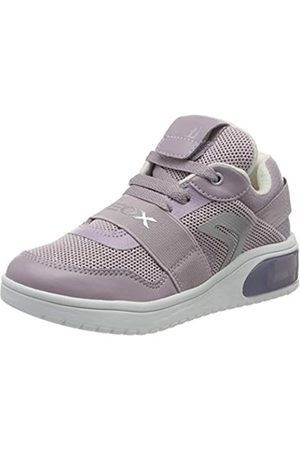 Geox J XLED Girl A, Zapatillas para Niñas, (Mauve C8003)