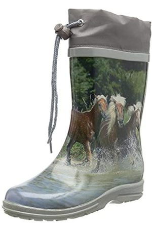 Beck Pferde, Botas de Agua para Niñas, -Mehrfarbig ( 50)