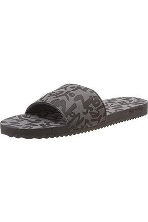 flip*flop Poolyyes no, Zuecos para Mujer, (Steel 0170)