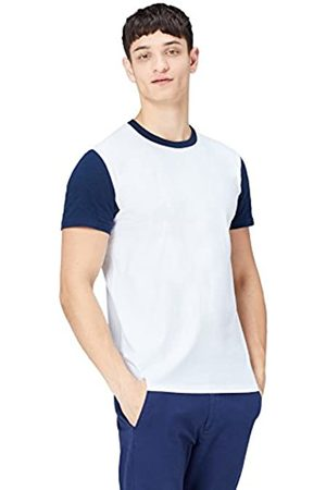 FIND Ss Blocking Crew Neck Tee, Camiseta para Hombre