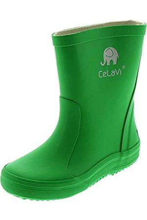 CeLaVi Gummistiefel, Botas de agua Unisex Niños, (Green 030)