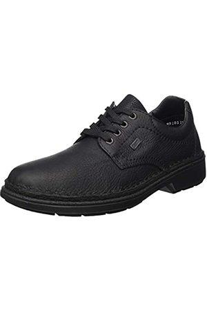 Rieker Herbst/Winter, Zapatos de Cordones Derby para Hombre, (Schwarz/Schwarz 00)