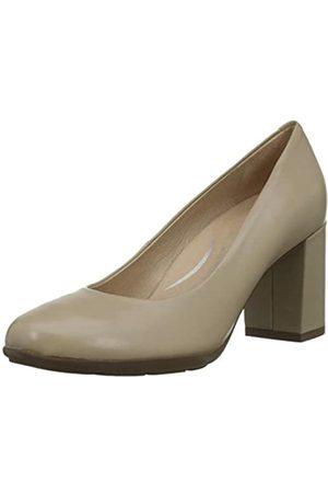 Geox Mujer Tacón - D New Annya A, Zapatos de Tacón para Mujer, ( C5000)