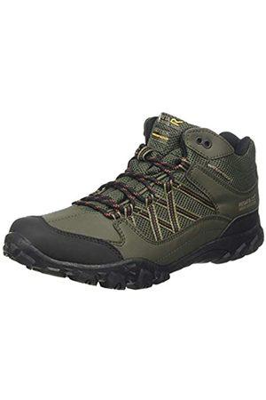 Regatta Edgepoint Waterproof Hiking Boot, Zapatillas de Senderismo para Hombre, (Bay Leaf/Burnt Umbre R56)