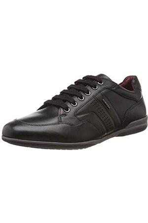 Geox U Timothy B, Zapatos de Cordones Derby para Hombre, (Black C9999)