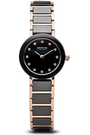 Bering Reloj Analógico para Mujer de Cuarzo con Correa en Acero Inoxidable 11422-746
