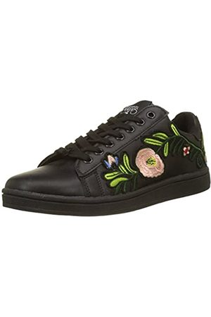 Le Temps des Cerises Zapatillas de Deporte de Sintético Mujer, ( (Flower Black Flower Black))