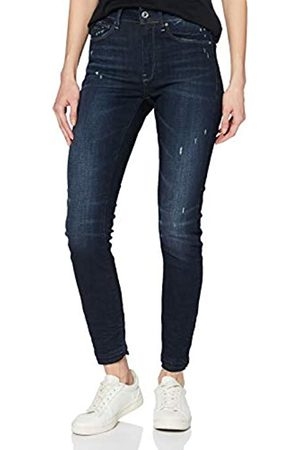 G-Star 3301 High Waist Skinny Ripped Ankle Vaqueros