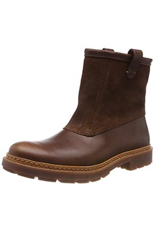 Clarks Trace Top, Botas Slouch para Hombre, (Mahogany Leather)