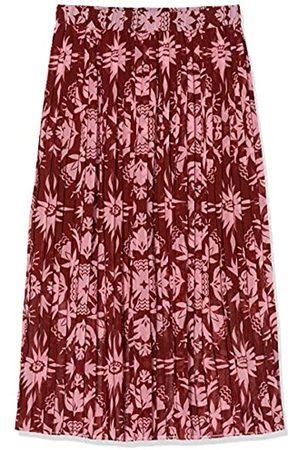 Scotch&Soda Maison Printed Skirt with Pleats Falda