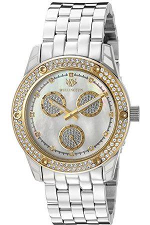 Daniel Wellington WN507-181B - Reloj analógico de Cuarzo para Mujer con Correa de Acero Inoxidable