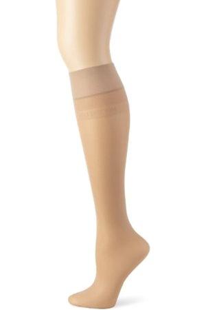Hudson Calcetines hasta la rodilla transparentes para mujer