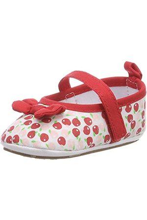 Sterntaler Baby-Ballerina - Botines de Senderismo Bebé-Niñas, Color Rojo
