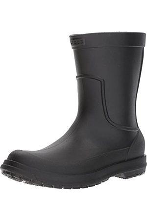 Crocs AllCast Rain Boot Men, Hombre Bota, (Black/Black)