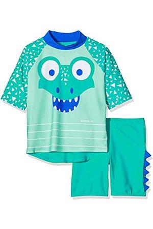 Speedo Corey Croc Unisex para Niños Conjunto De Camiseta Y Pantalón Corto De Baño