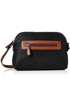 N.V. Bags SpruceMujerShoppers y bolsos de hombroNegro (Black) 7x17x24 centimeters (W x H x L)