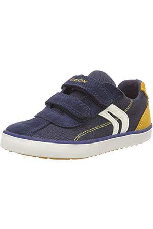 Geox B Kilwi Boy G, Zapatillas para Bebés, Navy/Dk Yellow C4229