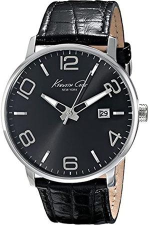 Kenneth Cole Reloj analogico para Hombre de Cuarzo con Correa en Piel IKC8005